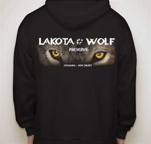 Lakota Wolf Zip-up Sweatshirt
