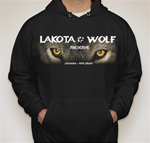 Lakota Wolf Pull over sweat shirt